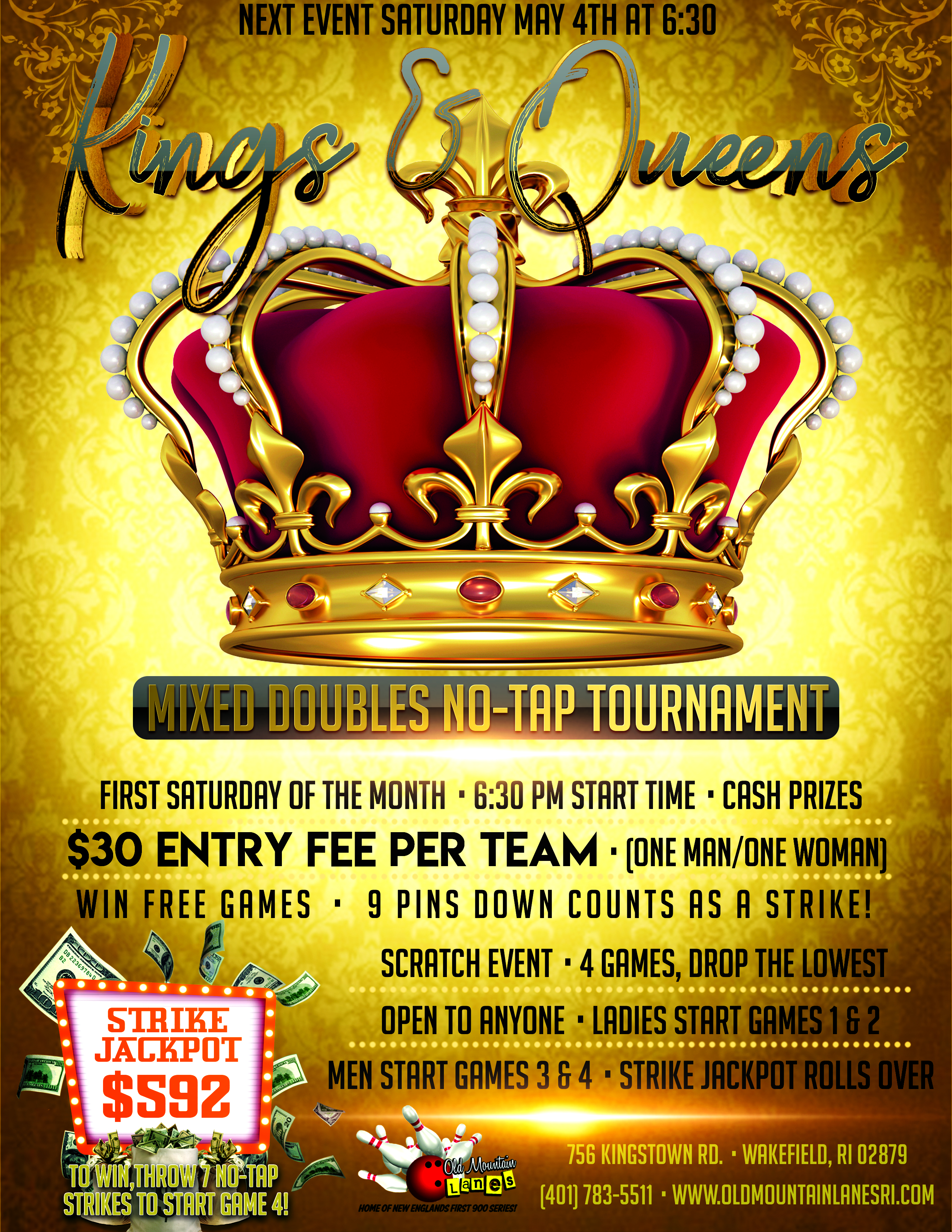 Kings and Queens Flyer 1